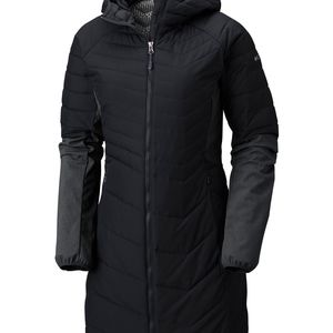 Columbia womens Oyanta Trail™ Long Hybrid Coat NEW